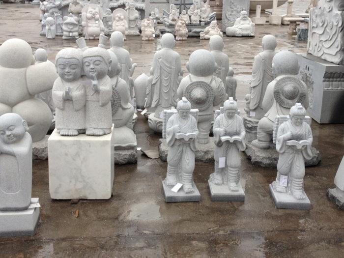 彫刻工場 その7 二宮金次郎 石像
