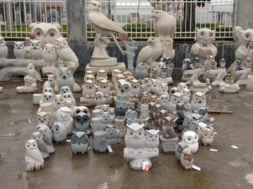 彫刻工場 その6 フクロウ