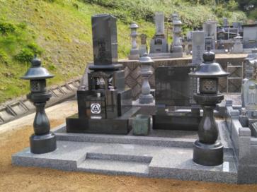豊岡市 W様 墓地移転