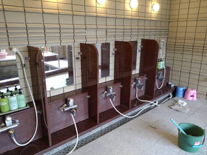 香美町 某旅館 浴室改修