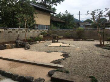 豊岡市 M様邸 庭園改修